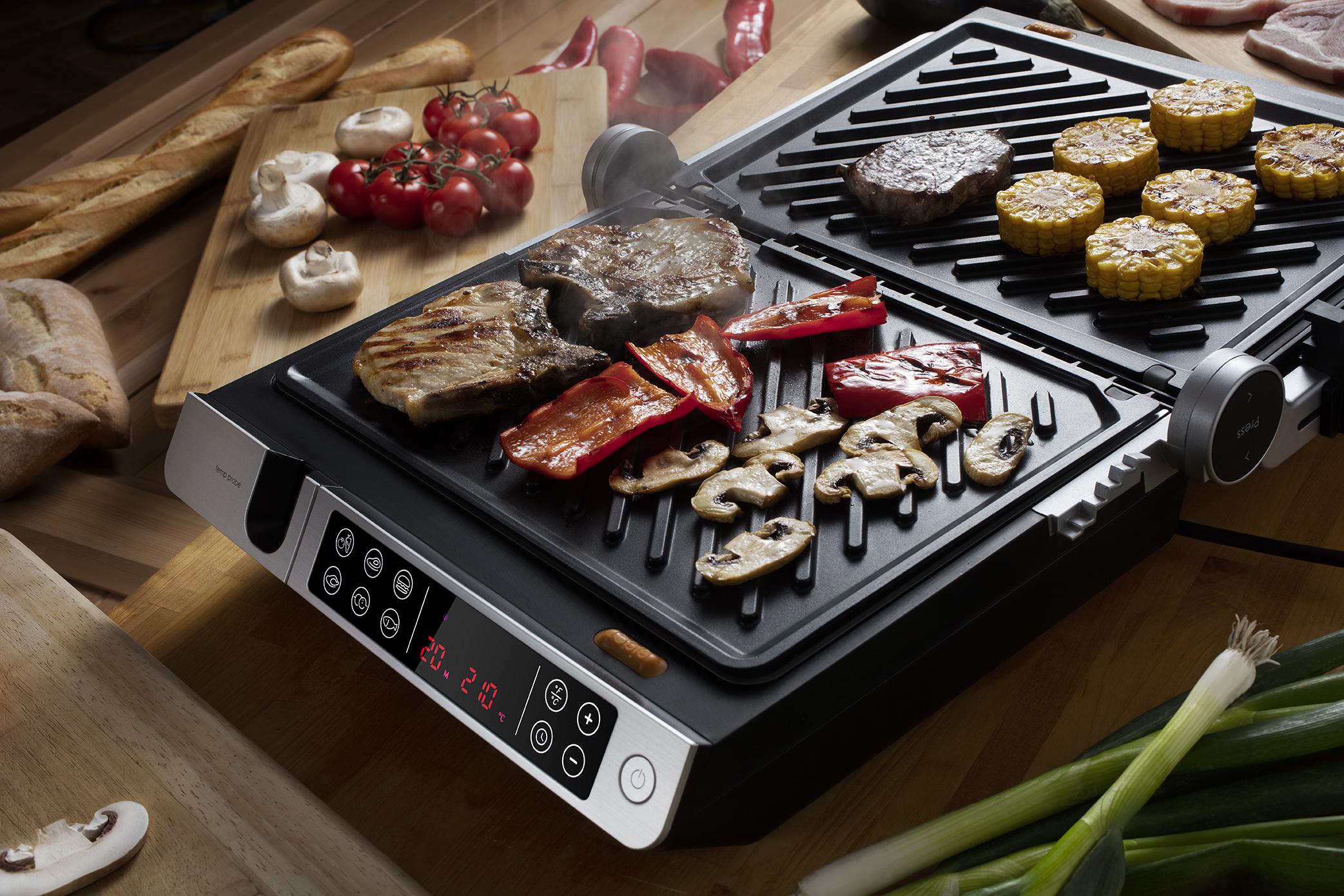Smart grill 2 v 1